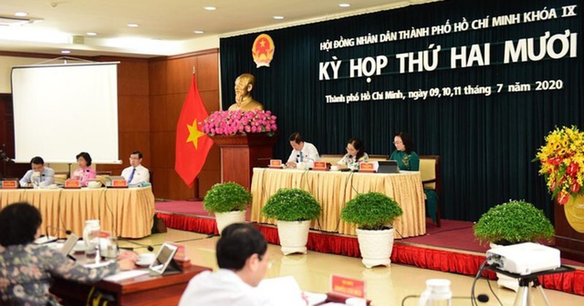 TP Hồ Chí Minh giải quyết chế độ như thế nào cho gần 2.300 cán bộ dôi dư?