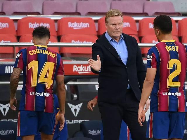 """Barcelona thất bại trước Real Madrid: Bị oan hay HLV Koeman quá """"non""""? - 3"""