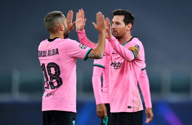Kết quả Champions League 2020/21: Messi giúp Barca thắng thuyết phục Juventus