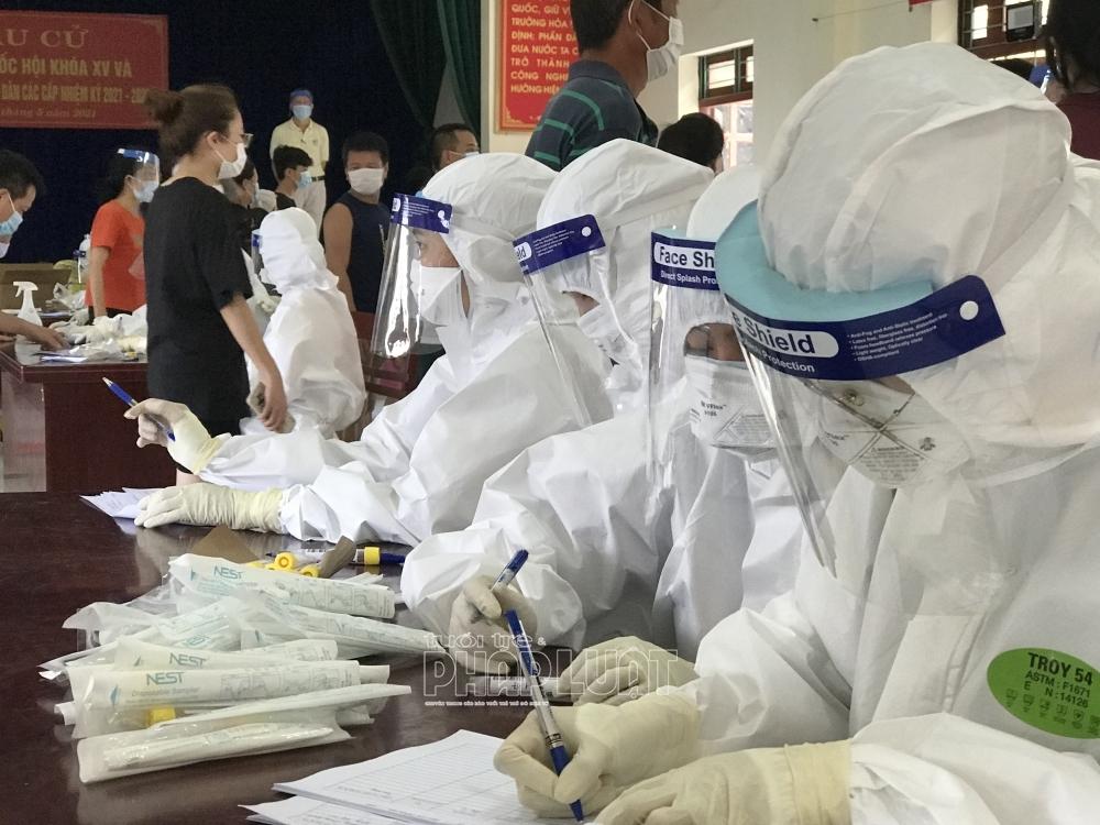 Bắc Giang phát sinh 4 ca mắc Covid-19 ngoài cộng đồng