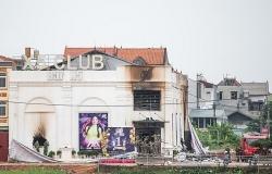 Bar X5 Club xảy ra hỏa hoạn chết người khi đang bị đình chỉ hoạt động