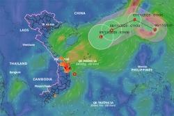 Xuất hiện bão Atsani giật cấp 12 gần Biển Đông