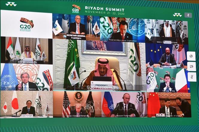 Khai mạc Hội nghị Thượng đỉnh G20 do Saudi Arabia chủ trì