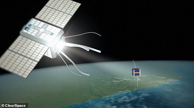Sứ mệnh chế tạo tàu gắp rác đầu tiên trong vũ trụ