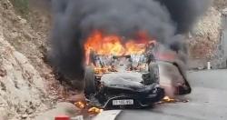 Từ vụ ô tô bốc cháy khiến tài xế tử vong: Cách thoát hiểm khi xe cháy