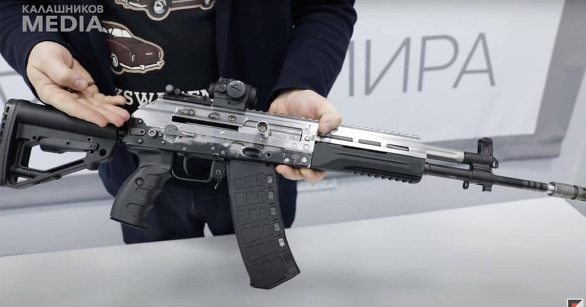 """Nga """"trình làng"""" dòng súng AK mới với thiết kế đặc biệt"""