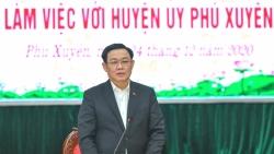 Bí thư Thành ủy Hà Nội Vương Đình Huệ: Phú Xuyên cần chủ động quyết liệt, sáng tạo, bứt phá