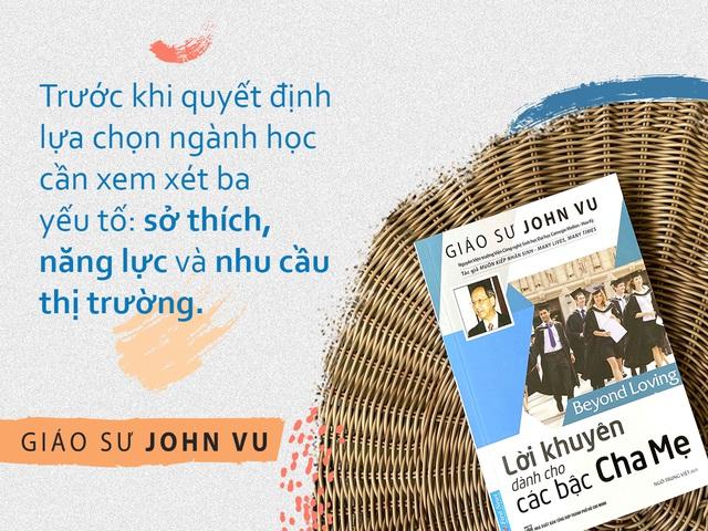 GS John Vu chỉ cách sinh tồn trước tương lai nghề nghiệp biến động - 2