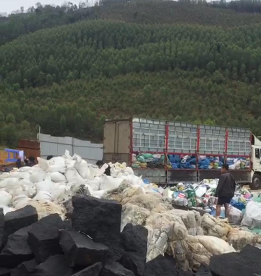 Chủ tịch tỉnh Bắc Giang chỉ đạo làm rõ vụ đốt chất thải trái phép tại huyện Lục Nam