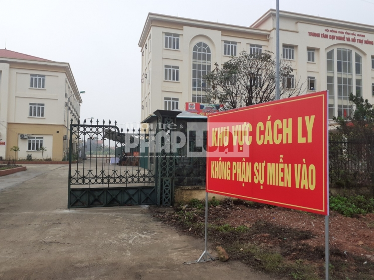 bac giang cach ly 17 nguoi viet nam va 10 nguoi trung quoc de kiem tra covid 19