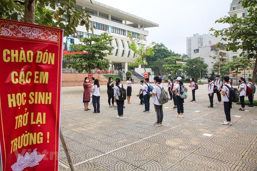 Toàn bộ học sinh, sinh viên tỉnh Thái Nguyên trở lại trường từ ngày 1/3