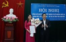Bà Nguyễn Thị Quỳnh Hương giữ chức vụ Giám đốc Sở LĐ-TB&XH tỉnh Thái Nguyên