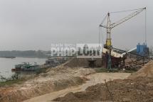 Toàn cảnh các bến, bãi tập kết cát, sỏi tại Bắc Giang - Bài 1: Muôn hoa đua nở