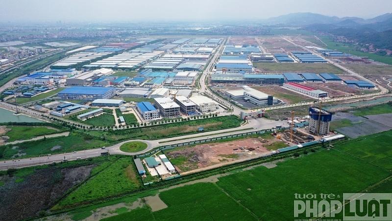 Bắc Giang đứng thứ 3 cả nước về thu hút vốn đầu tư FDI
