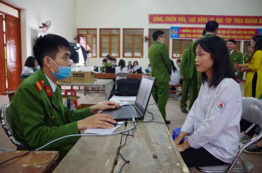 Công an tỉnh Thái Nguyên phấn đấu cấp CCCD cho 723.000 người