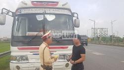 Cảnh sát giao thông Bắc Giang tuần tra, xử lý vi phạm khép kín 24/24 giờ