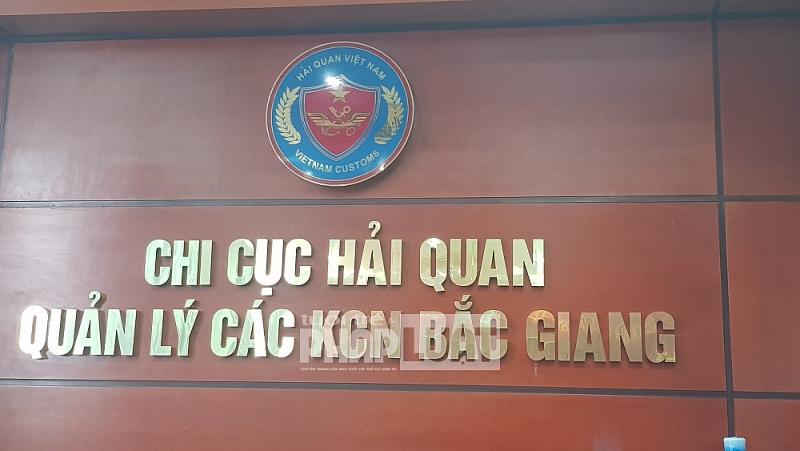 Chi cục Hải quan quản lý các KCN Bắc Giang đã từng kiểm tra về nguyên liệu nhập