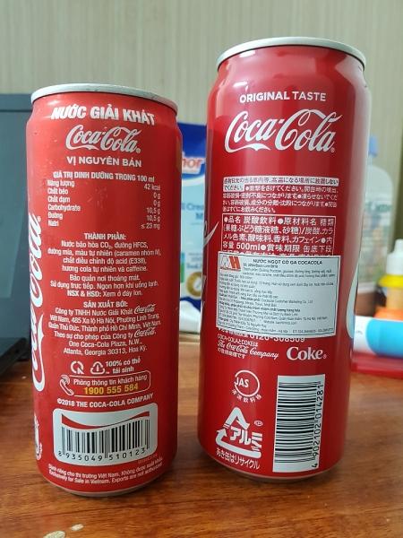 hoang mang vi dong chu khong duoc xuat khau tren lon coca cola