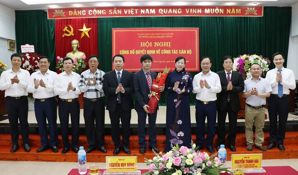 Sở Thông tin và Truyền thông Thái Nguyên có tân Phó Giám đốc