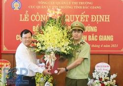 Bổ nhiệm Phó Cục trưởng Cục Quản lý thị trường tỉnh Bắc Giang