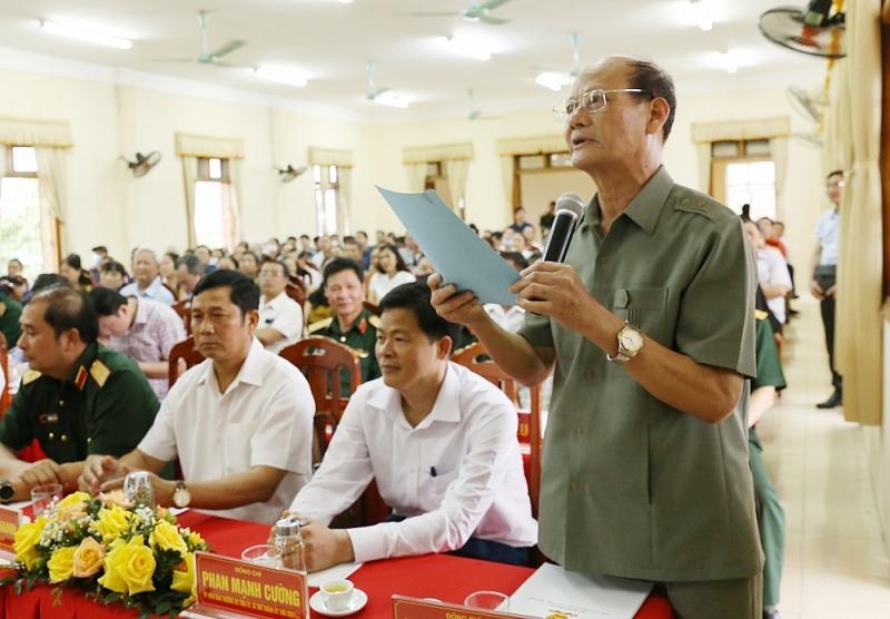 Thượng tướng Phan Văn Giang được 100% cử tri nơi cư trú tín nhiệm giới thiệu ứng cử ĐBQH