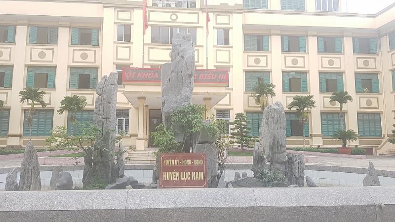 Bắc Giang: Chủ tịch huyện Lục Nam nói gì về việc Chủ tịch xã Chu Điện ký khống hồ sơ
