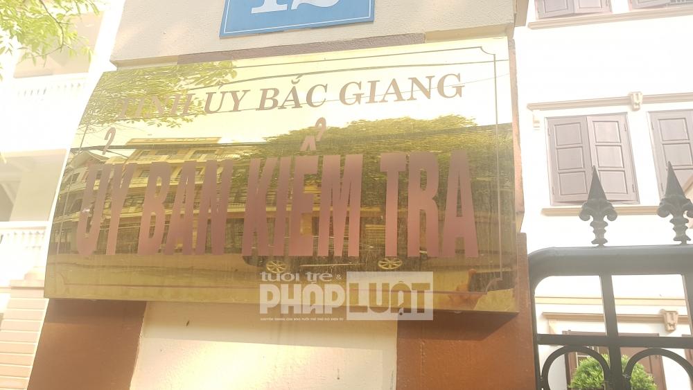 Bắc Giang: Phản hồi của UBKT Tỉnh uỷ về việc xử lý vi phạm đối với Chủ tịch xã Chu Điện