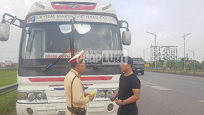 CSGT Bắc Giang xử lý 2.900 trường hợp vi phạm về giao thông