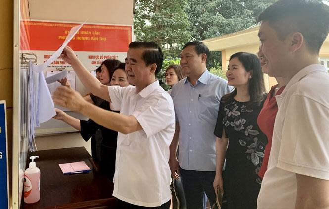 Thái Nguyên sẵn sàng cho ngày hội bầu cử