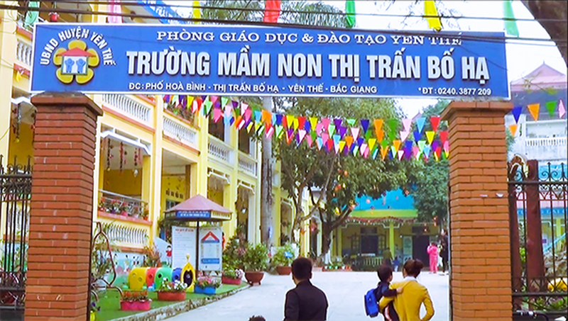 Bắc Giang có 790 trường đạt chuẩn quốc gia mức độ 1,2