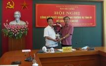 Thái Nguyên: Chủ tịch TP Sông Công được bổ nhiệm giữ chức vụ Phó Trưởng ban Nội chính Tỉnh ủy