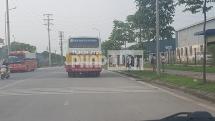 Mở đợt cao điểm xử lý các xe khách, xe buýt chở công nhân tại các KCN ở Bắc Giang