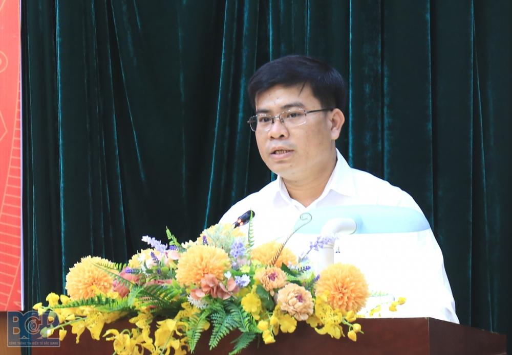 Sở TN&MT Bắc Giang có tân Phó Giám đốc