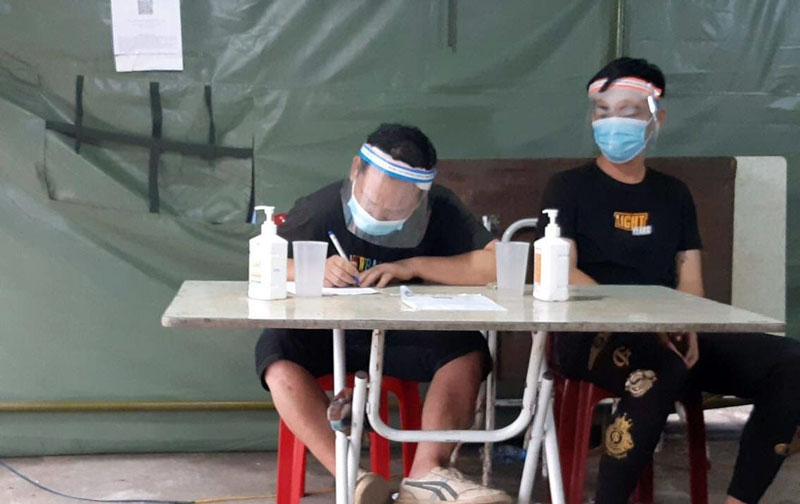 Phát hiện 5 người Trung Quốc nhập cảnh trái phép tại Thái Nguyên