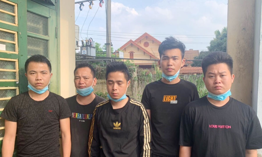 Công an Thái Nguyên khởi tố 2 đối tượng tổ chức nhập cảnh trái phép cho 5 người Trung Quốc