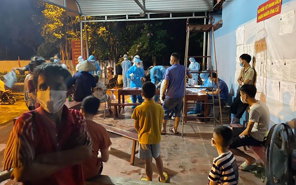 Thái Nguyên: Rà soát, khoanh vùng những người tiếp xúc với ca bệnh ở huyện Phú Bình