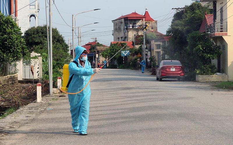 Thái Nguyên: Cách ly xã hội đối với 2.200 nhân khẩu xã Dương Thành