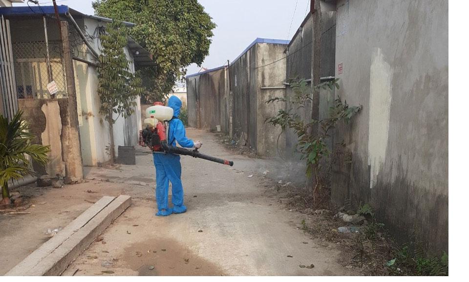 Thái Nguyên: Giãn cách xã hội 7 xã của huyện Phú Bình giáp ranh với Bắc Giang