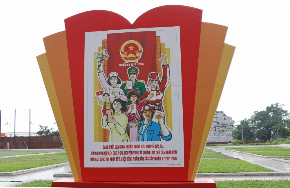 Thái Nguyên: 1.444 khu vực bỏ phiếu đã sẵn sàng để người dân đi bầu cử