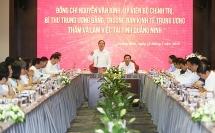 Quảng Ninh phấn đấu đến 2025 là thành phố trực thuộc Trung ương
