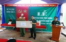 Quân khu 1 trao nhà tình nghĩa tặng vợ liệt sĩ tại Bắc Giang