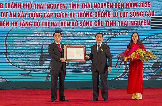 thai nguyen bai 1 xot xa ngam nhin de an song cau gan 10000 ty dong nam phoi suong tam nang