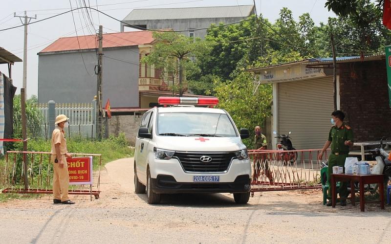 Thái Nguyên: 1 trường hợp nhiễm Covid-19 ở huyện Phú Bình