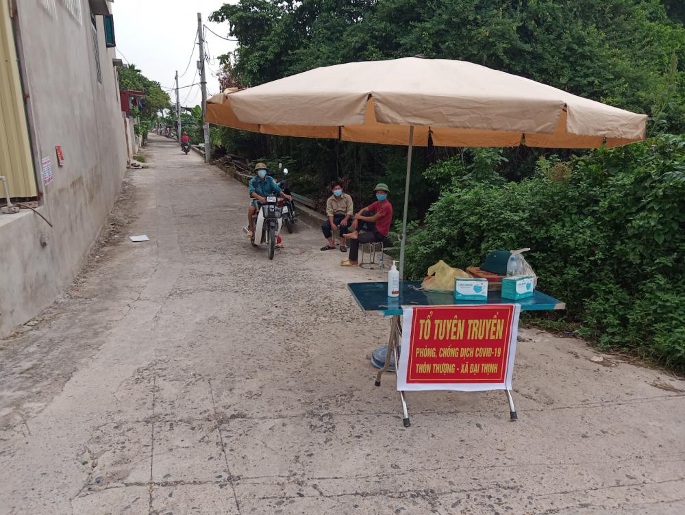 Huyện Mê Linh thực hiện nghiêm theo Chỉ thị 17 của Chủ tịch TP Hà Nội