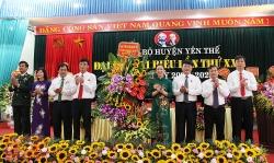 Bắc Giang: Ông Bùi Thế Chung tái đắc cử Bí thư huyện uỷ Yên Thế