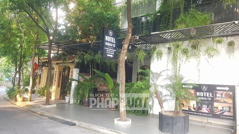 Các khách sạn, nhà nghỉ cho khách thuê phòng trái phép tại quận Cầu Giấy đã đóng cửa