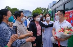 Thái Nguyên chi viện 190 cán bộ y, bác sĩ vào miền Nam chống dịch Covid-19