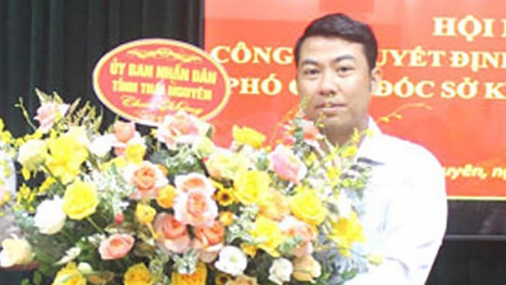 Cách chức Phó Giám đốc Sở KH-ĐT Thái Nguyên vì sàm sỡ nữ nhân viên