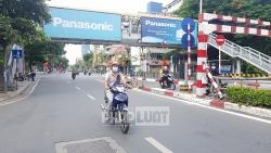 Hà Nội: Người dân vẫn đổ ra đường bất chấp lệnh giãn cách xã hội