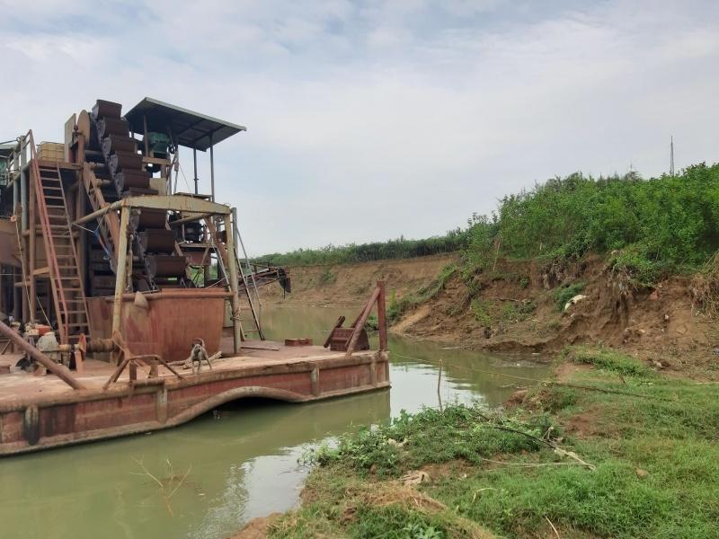 Bắc Giang: Công ty TNHH XD&TM Linh Hải bị thu hồi bãi cát, sỏi tại bãi soi Đa Hội